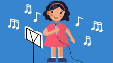 Учатся петь