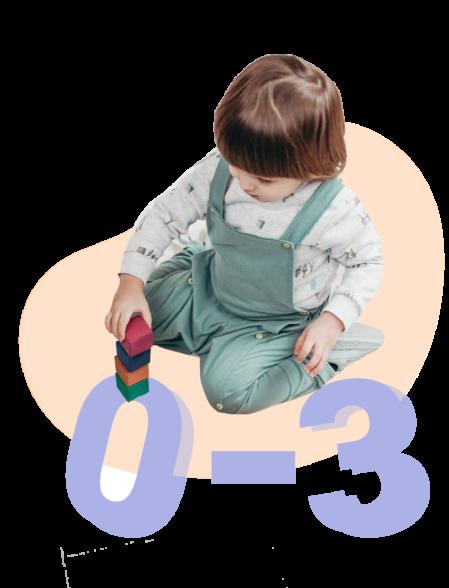 Для малышей от 0 до 3 лет